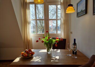 Eetkamer Hotelsuite Ambrosijn Schiermonnikoog