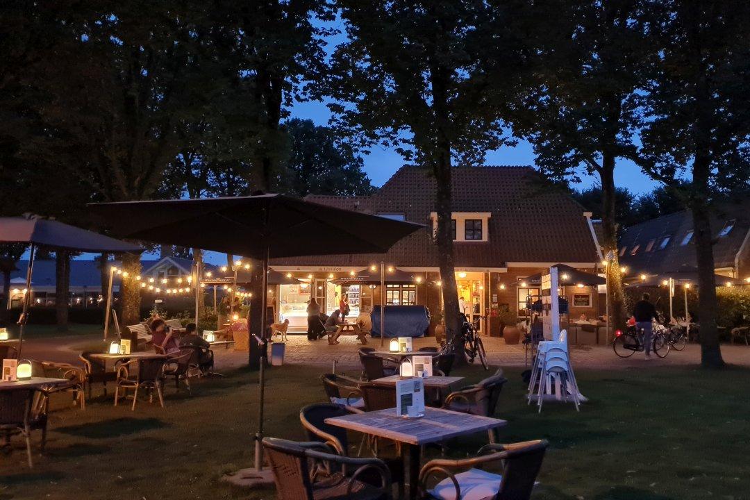 Restaurant Ambrosijn Schiermonnikoog summer night