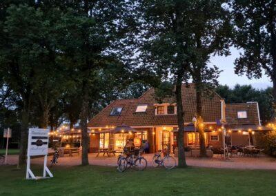 Restaurant Ambrosijn Schiermonnikoog zomeravond