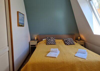 Slaapkamer Hotelsuite Ambrosijn Schiermonnikoog