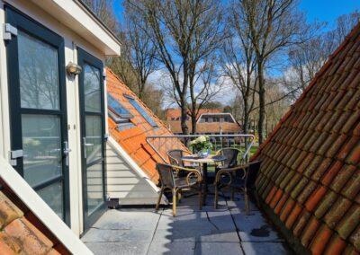 Terras Hotelsuites Ambrosijn Schiermonnikoog